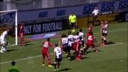 Kone di testa spedisce alto un corner dell'Udinese