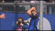 Girata superlativa di Tiribocchi, sfiora il gran goal con la Fiorentina: palo!