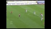 Il sinistro di Sculli piega le mani a Handanovic e porta avanti il Genoa
