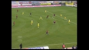 Il goal di Suazo apre le marcature per il Cagliari contro il Chievo
