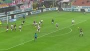 Bacca porta in vantaggio il Milan contro il Genoa a San Siro