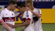 Bacca realizza su rigore il goal che vale la vittoria a Bologna