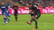 Bacca su calcio di rigore accorcia le distanze, Milan-Sassuolo 2-3