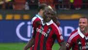 Balotelli goal su rigore: e il Milan fa poker contro il Catania