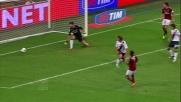 Balotelli illumina, Robinho insacca il goal dell'1 a 0 contro il Cagliari