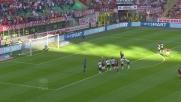 Balotelli segna su rigore pareggiando momentaneamente i conti con il Parma