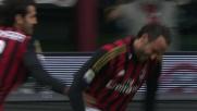 Balotelli serve e Pazzini conlude: è il goal del tris Milan sul Livorno