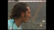 Bazzani fa tremare la traversa in Lazio-Parma
