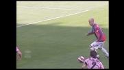 Bel goal di Figueroa che riporta il Genoa in parità a Palermo