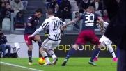 Bella giocata di suola di Suso contro la Juventus