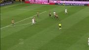 Bella iniziativa di Osvaldo contro il Milan ma il suo tiro non trova lo specchio