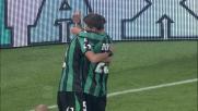Berardi finalizza col goal  un assist al bacio di Pavoletti