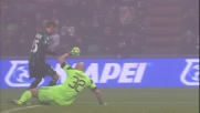 Berardi punisce la difesa del Milan con un goal
