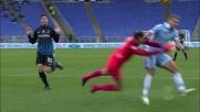 Berisha frana su Immobile: rigore per la Lazio