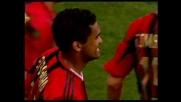Ancora Serginho: pallonetto delizioso per il 2-1 rossonero