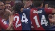 Biava affonda la Roma con il goal del 3-2 e fa esultare il Marassi