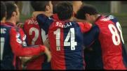 Biava colpisce su corner e realizza il goal dell'1-0 del Genoa sul Torino