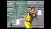 Bierhoff porta in vantaggio il Chievo all'Olimpico con un diagonale di destro