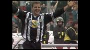 Bierhoff punisce la Juventus con il suo marchio di fabbrica: il goal di testa