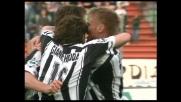Bierhoff sblocca la partita al Friuli contro il Bari con un goal dei suoi
