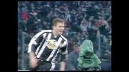Bierhoff segna un goal contro l'Inter e regala la vittoria all'Udinese