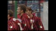 Bierhoff segna un goal da rapace dell'area di rigore contro il Torino