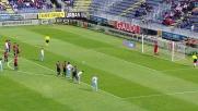 Biglia calcia alle stelle il rigore a Cagliari