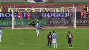 Biglia segna il goal vittoria della Lazio da calcio di rigore