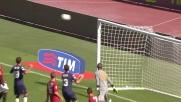 Biondini, tiro o cross? Il Cagliari sfiora il goal contro la Roma