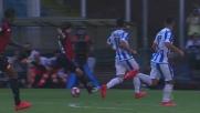 Bizzarri salva il Pescara su tiro di Laxalt