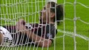 Bizzarri toglie la palla dai piedi di Cerci e nega il goal al Milan