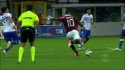 Boateng colpisce il palo con Romero battuto