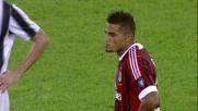 Boateng commette fallo su Chiellini e viene espulso