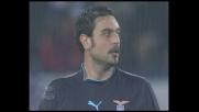 Fiore ci prova senza successo dalla distanza contro l'Inter