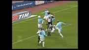 Bogdani segna il goal dell'1-1 tra Lazio e Siena