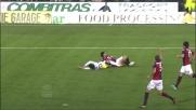 Bogdani si beve Moretti e si guadagna un calcio di rigore