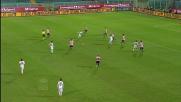 Bojan dribbla mezza difesa del Palermo ma Ujkani para il suo tiro