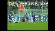 Bojinov non sorprende Peruzzi su punizione: la Lazio si salva