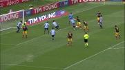 Bojinov segna il goal del definitivo pareggio del Lecce all'Olimpico