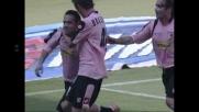 Bolide da punizione: goal di Miccoli e il Palermo raddoppia sul Cagliari