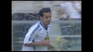 Bombardini segna su assist di Vieri: l'Atalanta rientra ancora in partita a Livorno