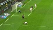 Bonaventura calcia fuori da ottima posizione: il Milan sfiora il terzo goal con la Roma