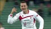 Bonucci si inventa un gran goal: Bari avanti sul Palermo