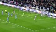 Bonucci sigla il goal contro la Lazio dopo una corsa inarrestabile