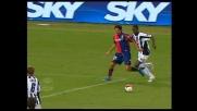 Borriello cade in area dopo un contrasto con Zapata: rigore per il Genoa!