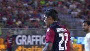 Borriello carica il sinistro e fa tremare la Roma: tiro deviato in corner