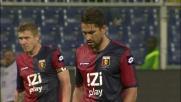 Borriello non sbaglia dagli undici metri e regala il pareggio al Genoa