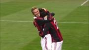 Borriello partecipa al festival del goal del Milan a San Siro