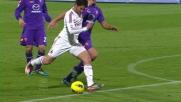 Boruc e il palo negano il goal a Pato a Firenze
