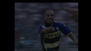 Bresciano firma il goal del vantaggio per il Parma contro la Lazio